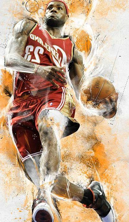 Lebron James Cleveland Cavaliers Wallpaper   HD4Wallpaper.net