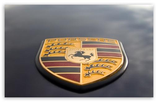 Porsche Logo HD desktop wallpaper Widescreen High Definition 510x330