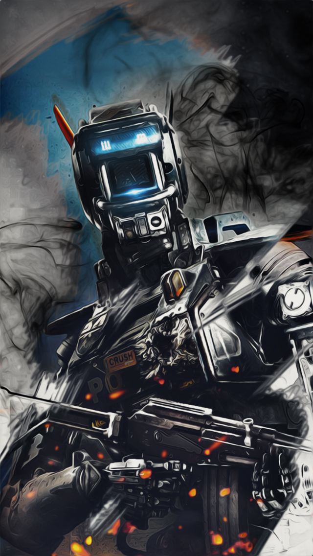 Top Rated 2016 Chappie HD Quality Wallpapers Item 88PZT 640x1136