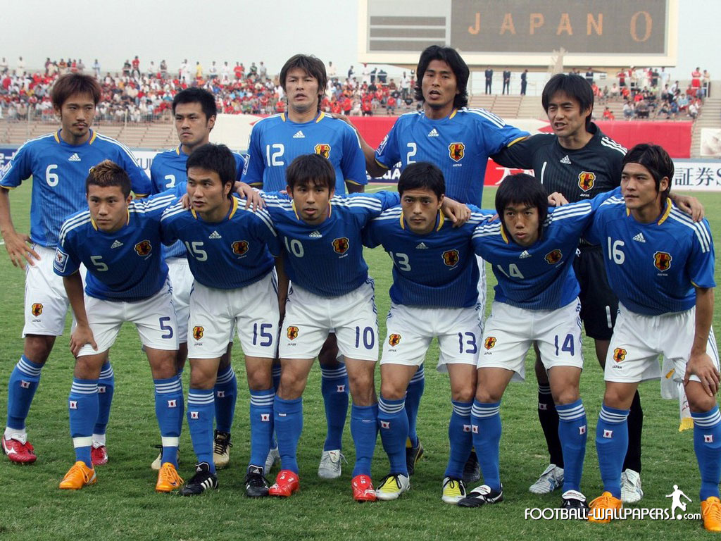 Japan National Team Wallpapers 1024x768