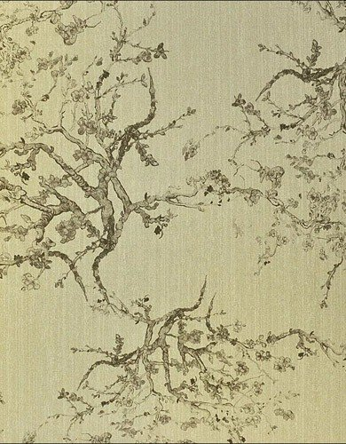 wallpaper is an oriental inspired design featuring delicate japanese 390x500