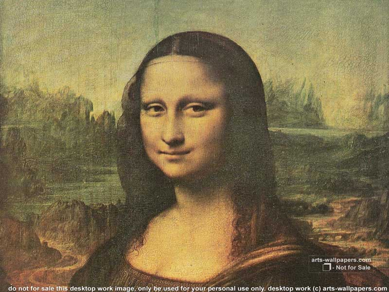 Mona Lisa Wallpaper Mona Lisa Poster Art Print Painting 800x600