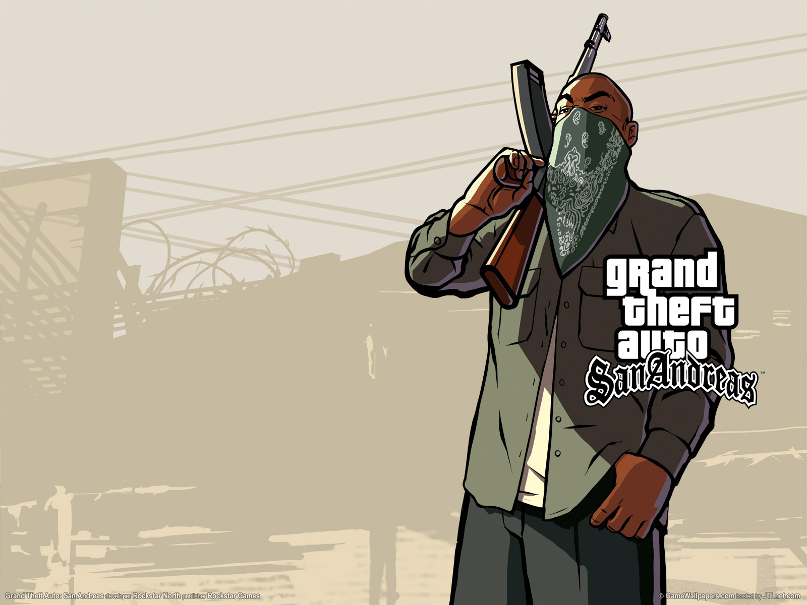 Grand Theft Auto San Andreas Wallpaper Mulberry Nails 1600x1200