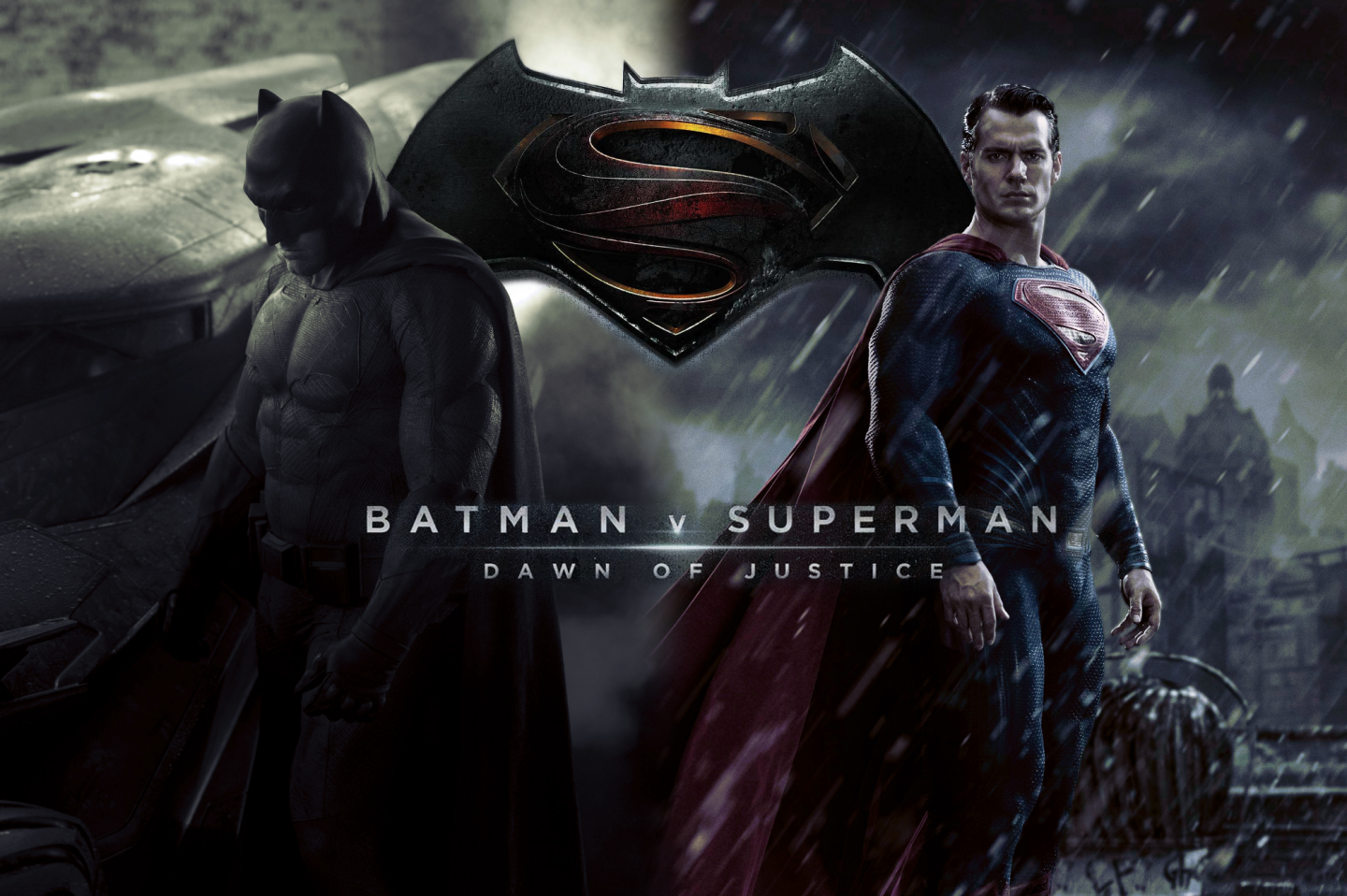Batman VS Superman Desktop Wallpapers Desktop Wallpaper 1440x958