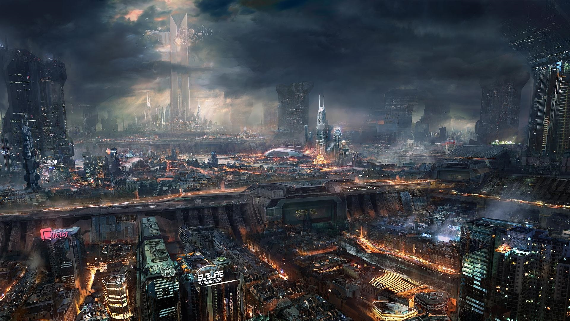 Free Download 50 Futuristic City Wallpapers 1920x1080 For Your Desktop Mobile Tablet Explore 75 City Wallpapers Black And White City Wallpaper New York City Wallpaper Hd City Wallpapers