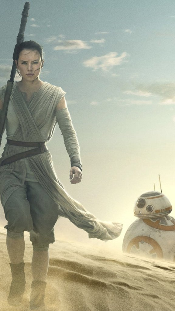 Star Wars The Force Awakens Rey Wallpaper iDeviceArt 576x1024