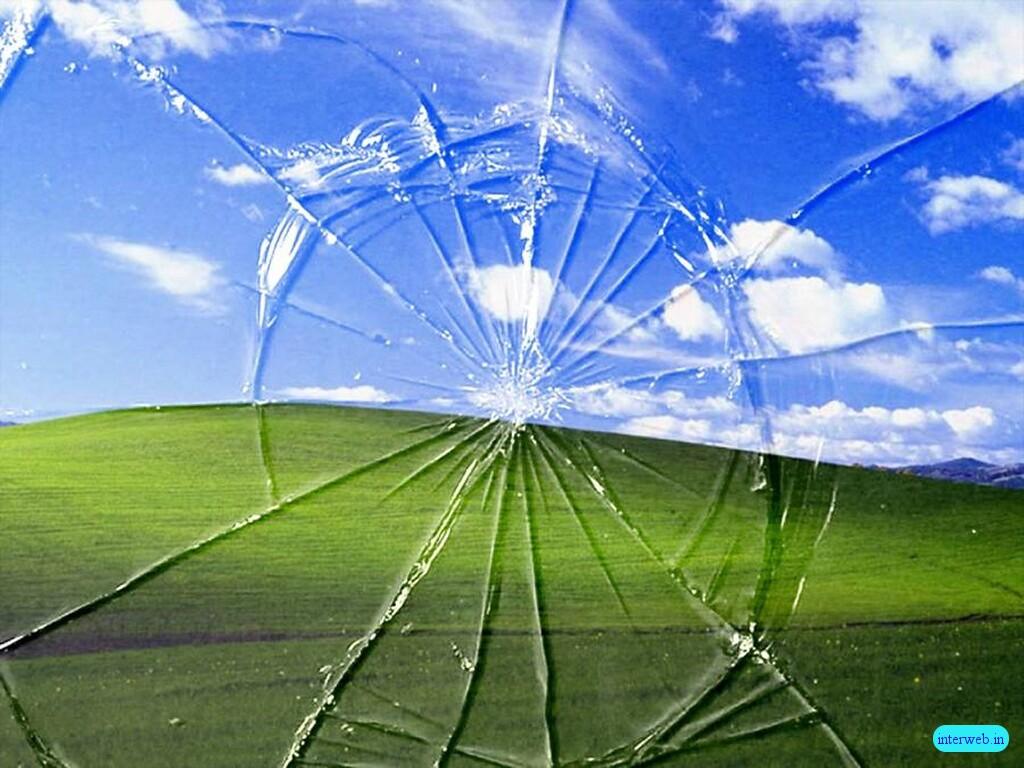 funny wallpaper broken desktopjpg 1024x768