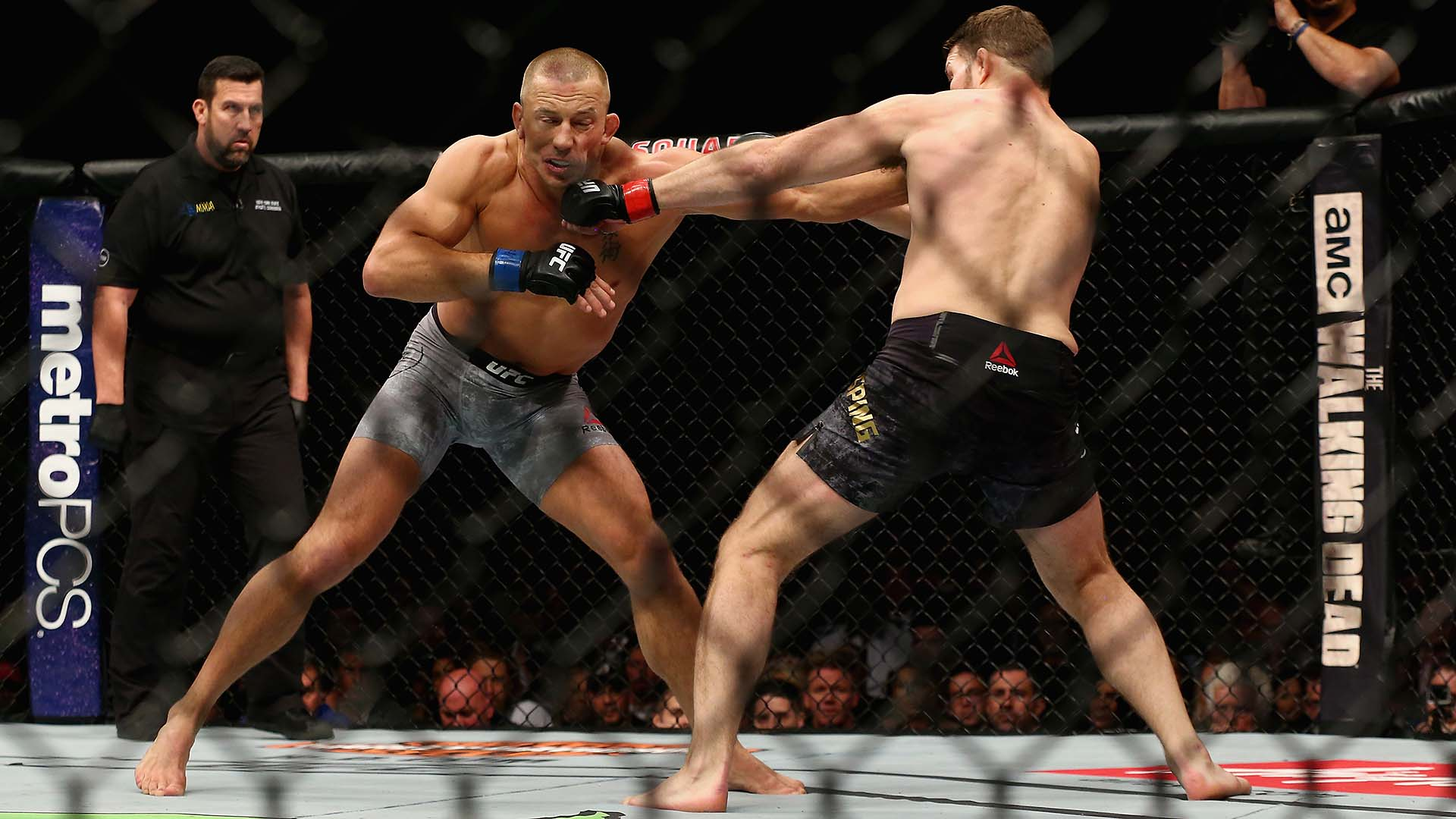 Photos UFC 217 Georges St Pierre defeats Michael Bisping 1920x1080