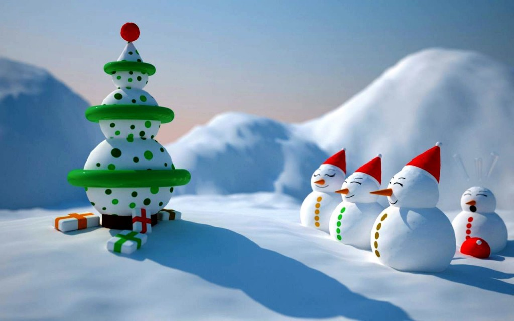 3D Christmas Wallpaper HD HD Wallpapers Backgrounds Photos 1024x640