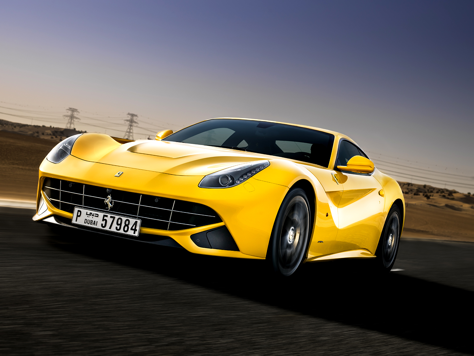Ferrari F12 Yellow Exotic Car Wallpaper   Galleryautomo 1600x1200