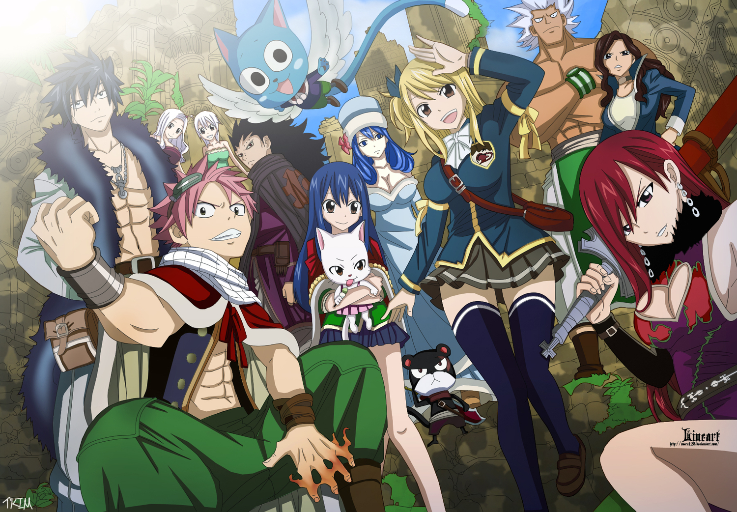 Fairy Tail Wallpaper PC Background 5990 Wallpaper Cool 1500x1042