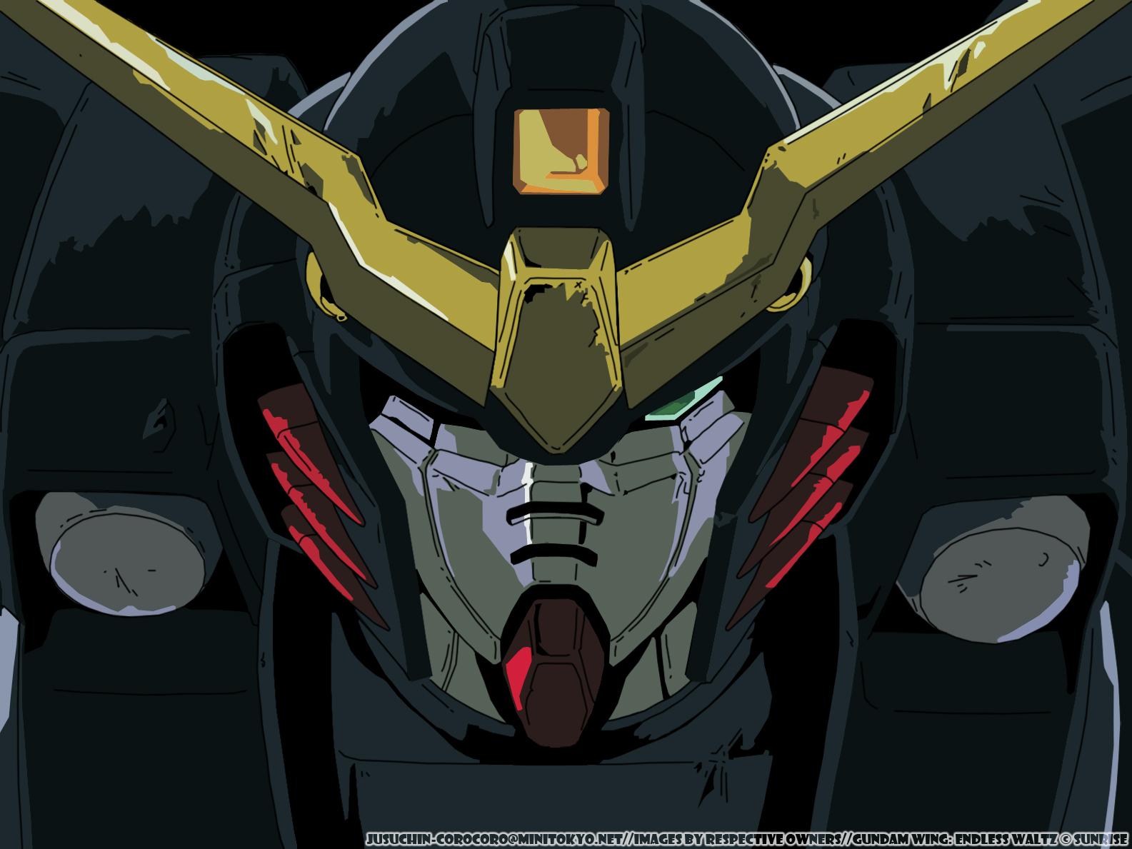 49] Gundam Wing Deathscythe Wallpaper on WallpaperSafari 1585x1189