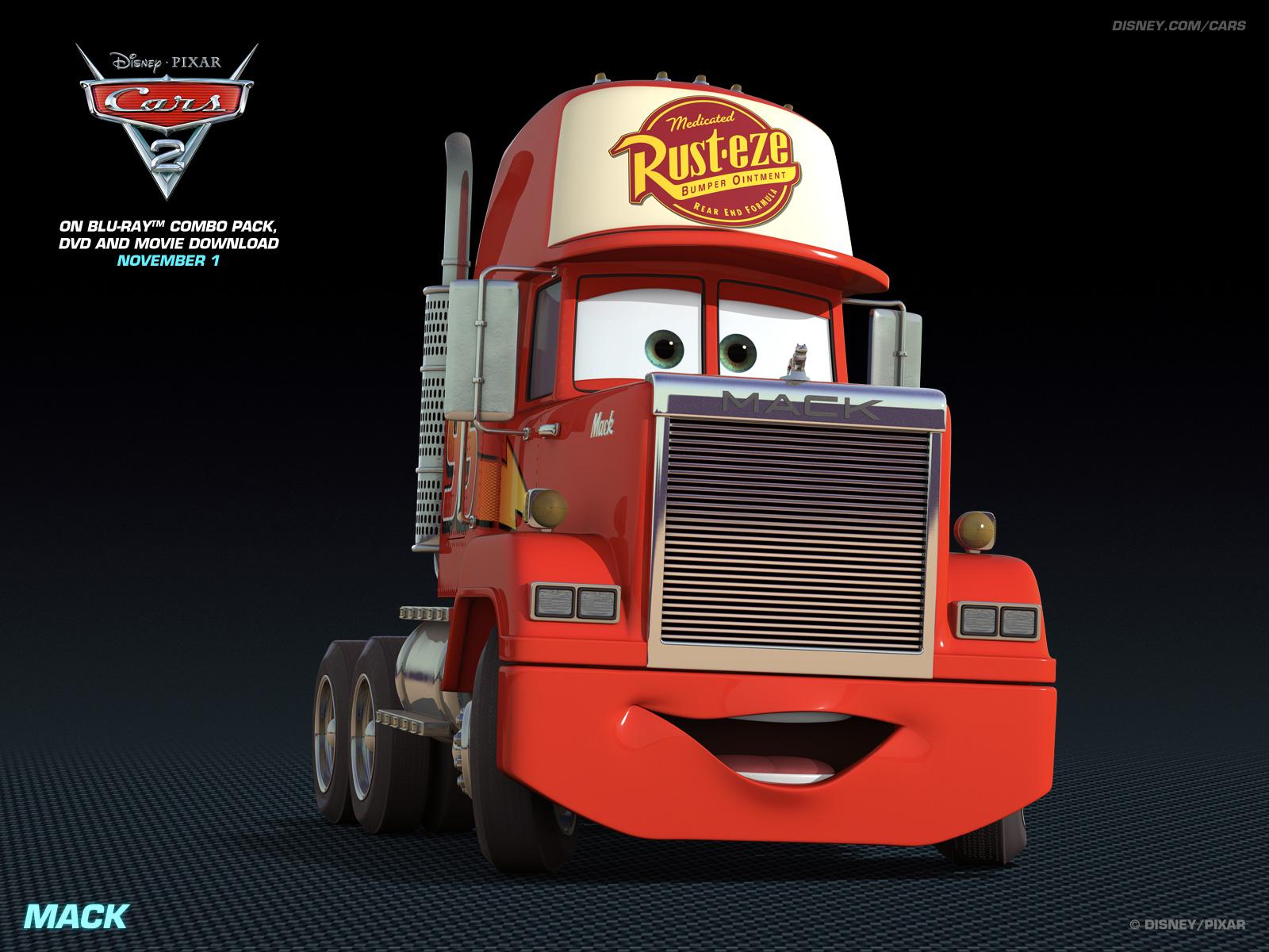 Disney Pixar Cars 2 images Mack wallpaper photos 28261483 1600x1200