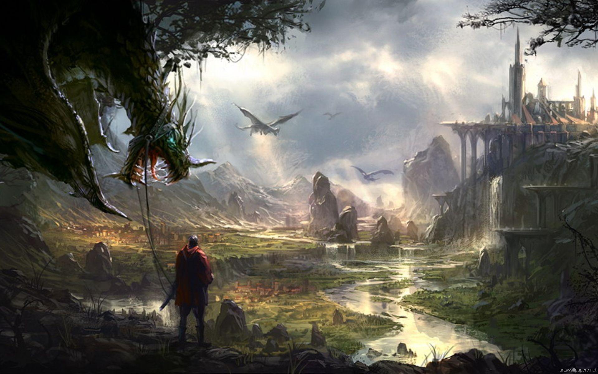 50 Best HD Fantasy Wallpapers For Desktop 1920x1200