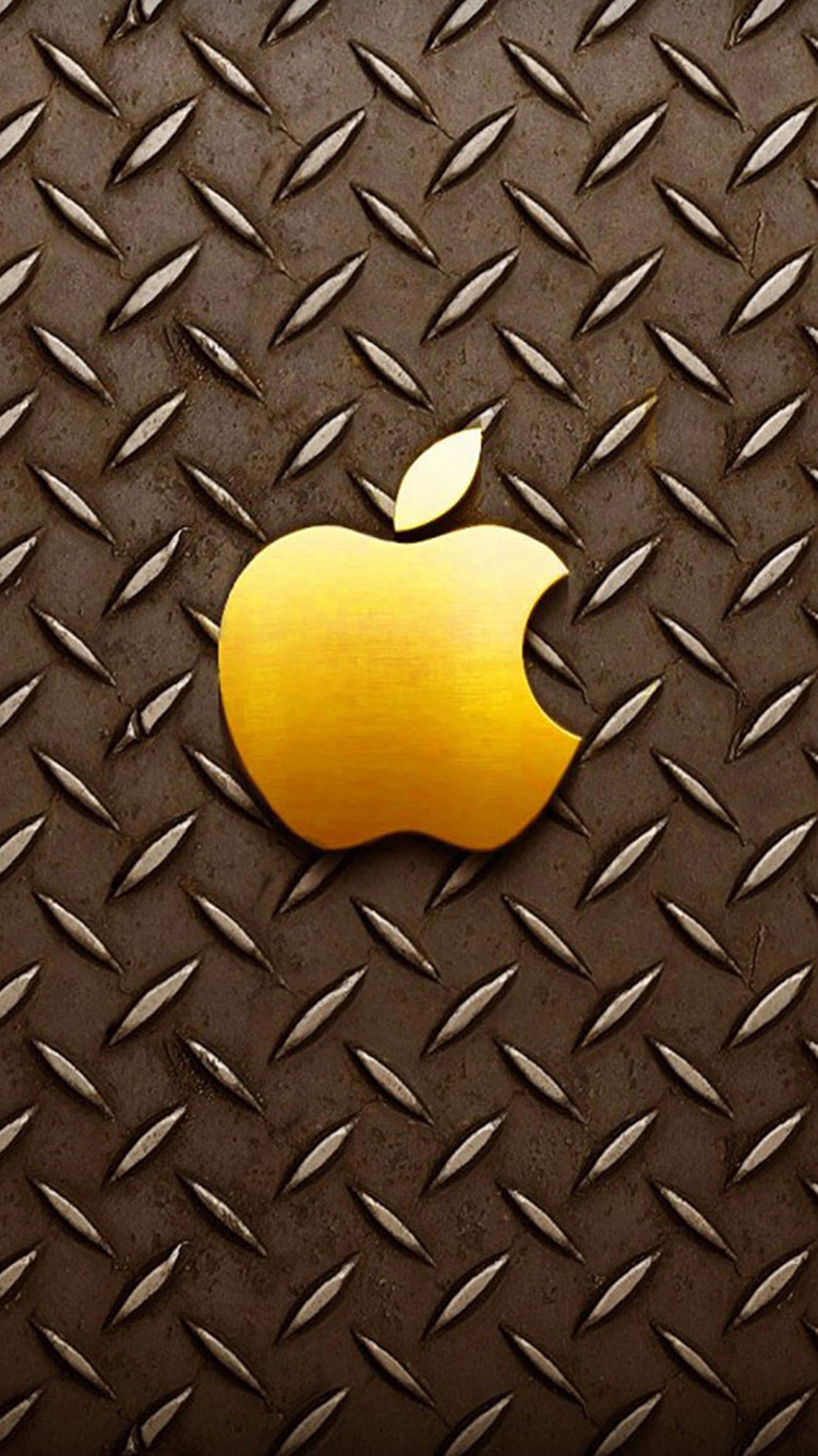 Gold apple logo iPhone 6 Wallpapers HD Wallpapers For iPhone 6 750x1334