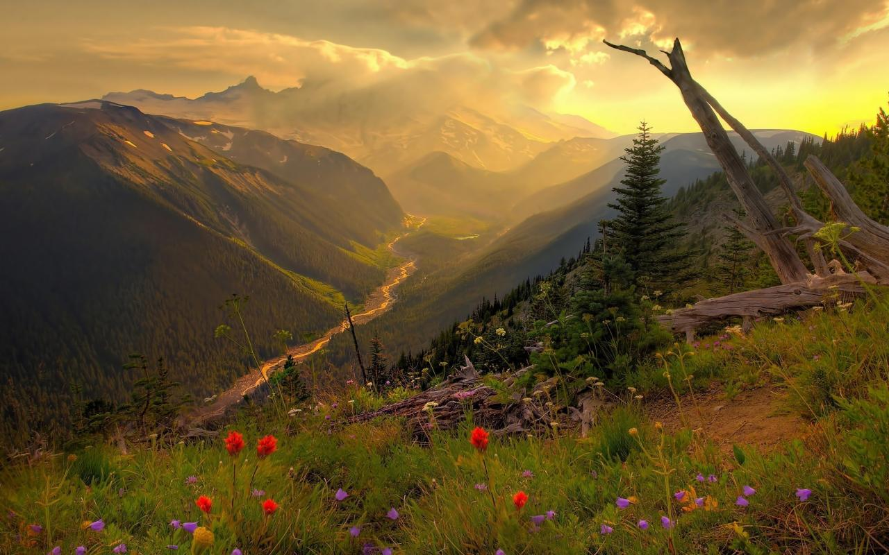 Landscapes nature panorama twilight time of day wallpaper 47312 1280x800