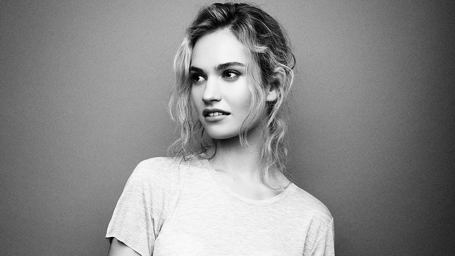 Lily James Wallpapers High Resolution and Quality Download 1920x1080