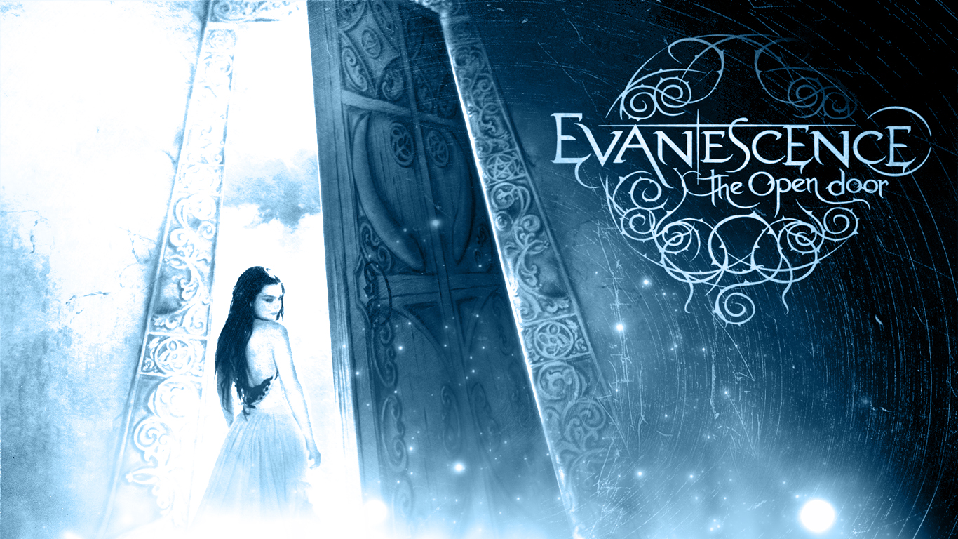 Displaying 11 Images For   Evanescence Wallpaper The Open Door 1366x768