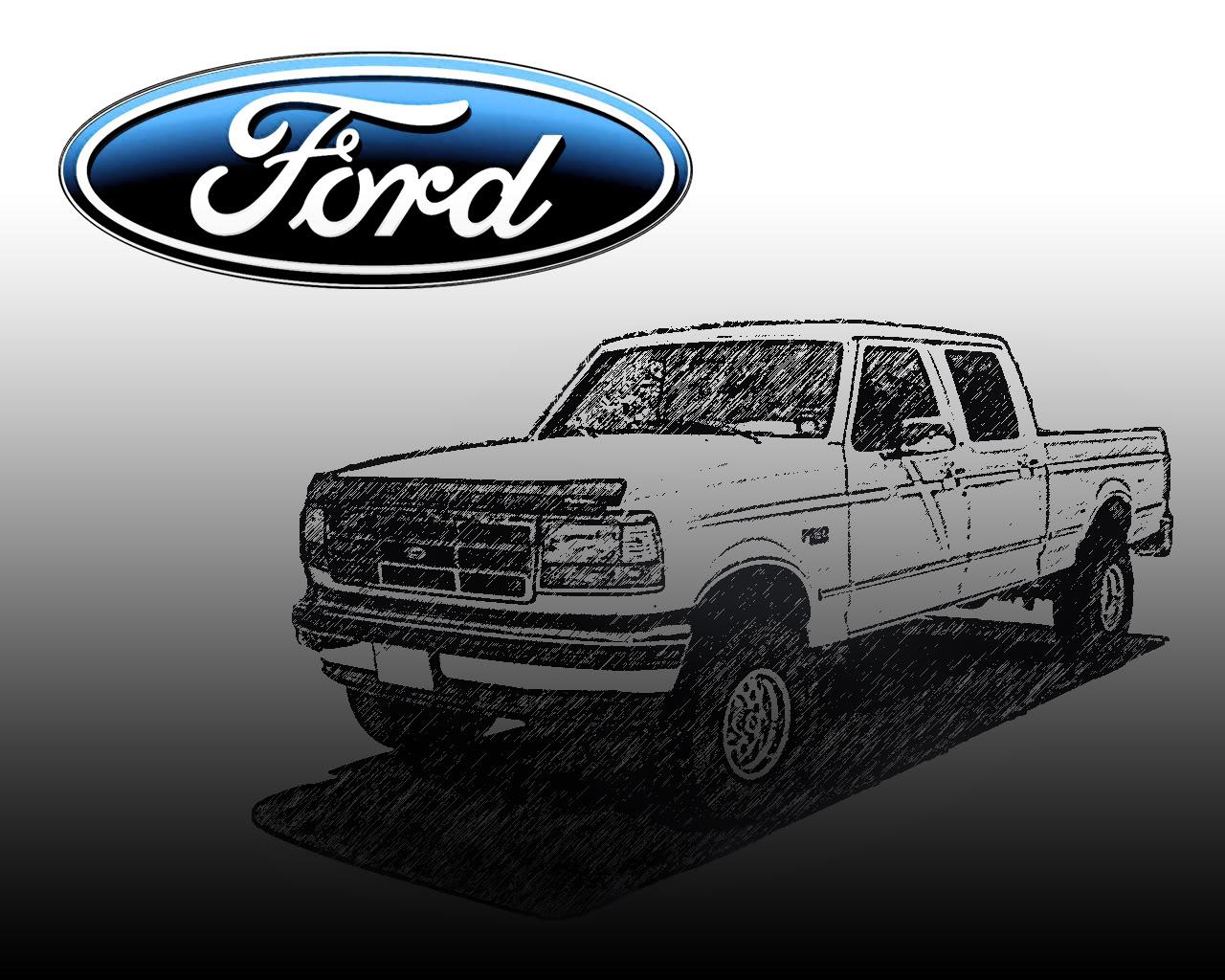Classic Ford Truck Wallpaper - WallpaperSafari