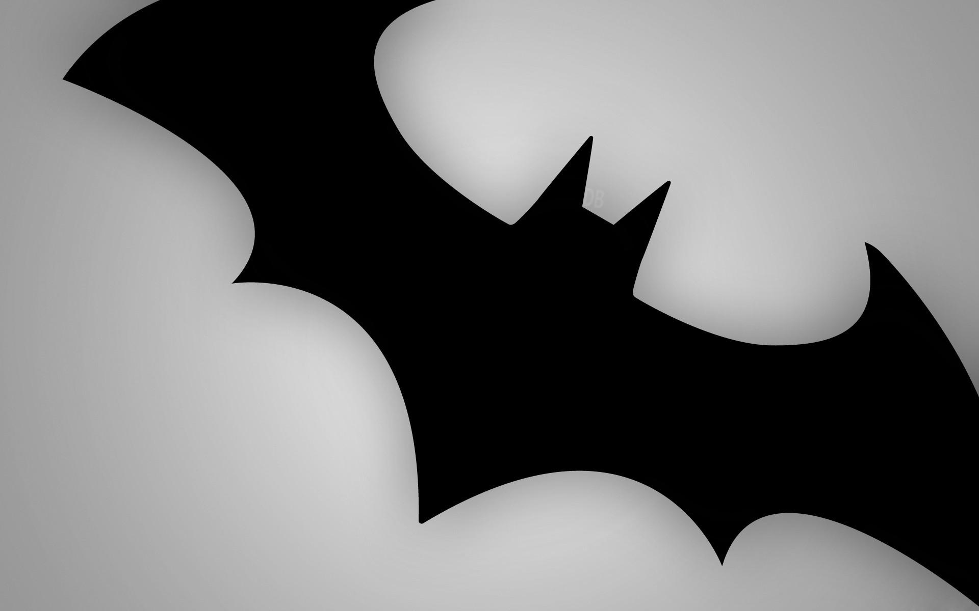 Logo de Batman hd 1920x1200   imagenes   wallpapers gratis   Diseo 1920x1200