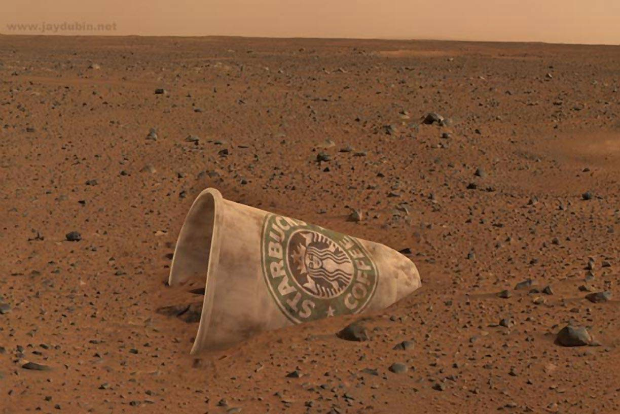 Mars rover wallpaper