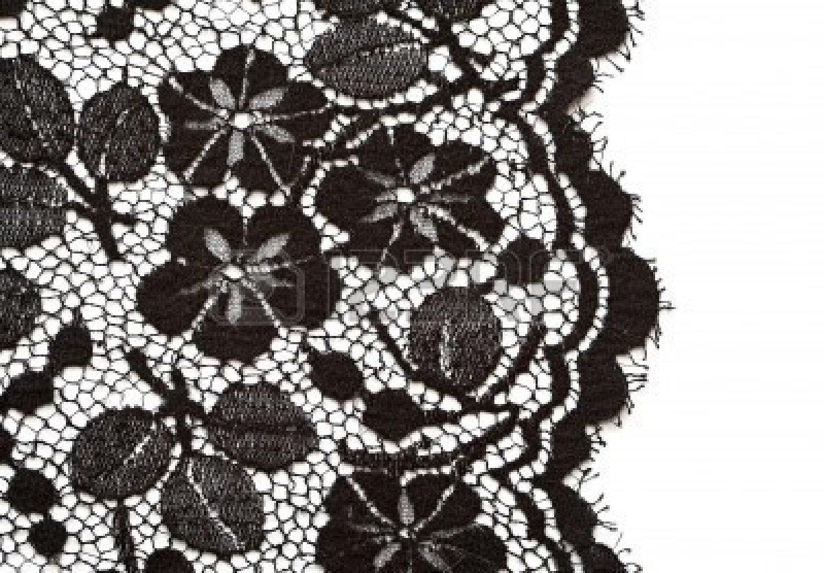 Black Lace Wallpaper - WallpaperSafari