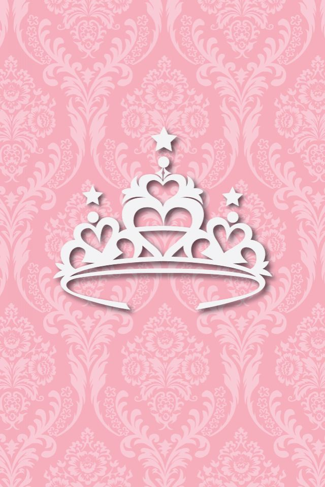 princess crown more iphone wallpapers princess crowns girly wallpapers 640x960