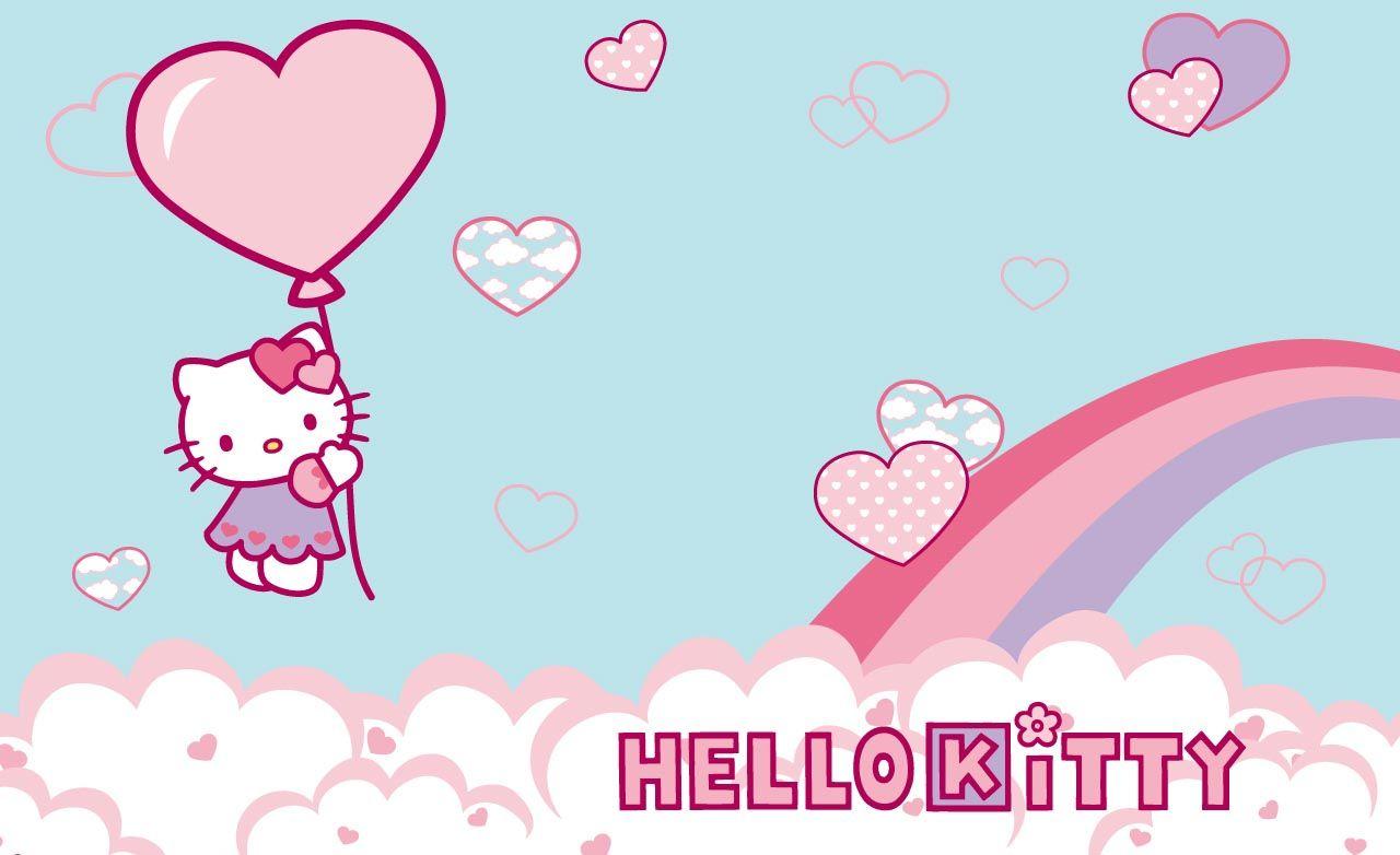 Hello Kitty Hd Desktop Wallpaper Wallpapersafari