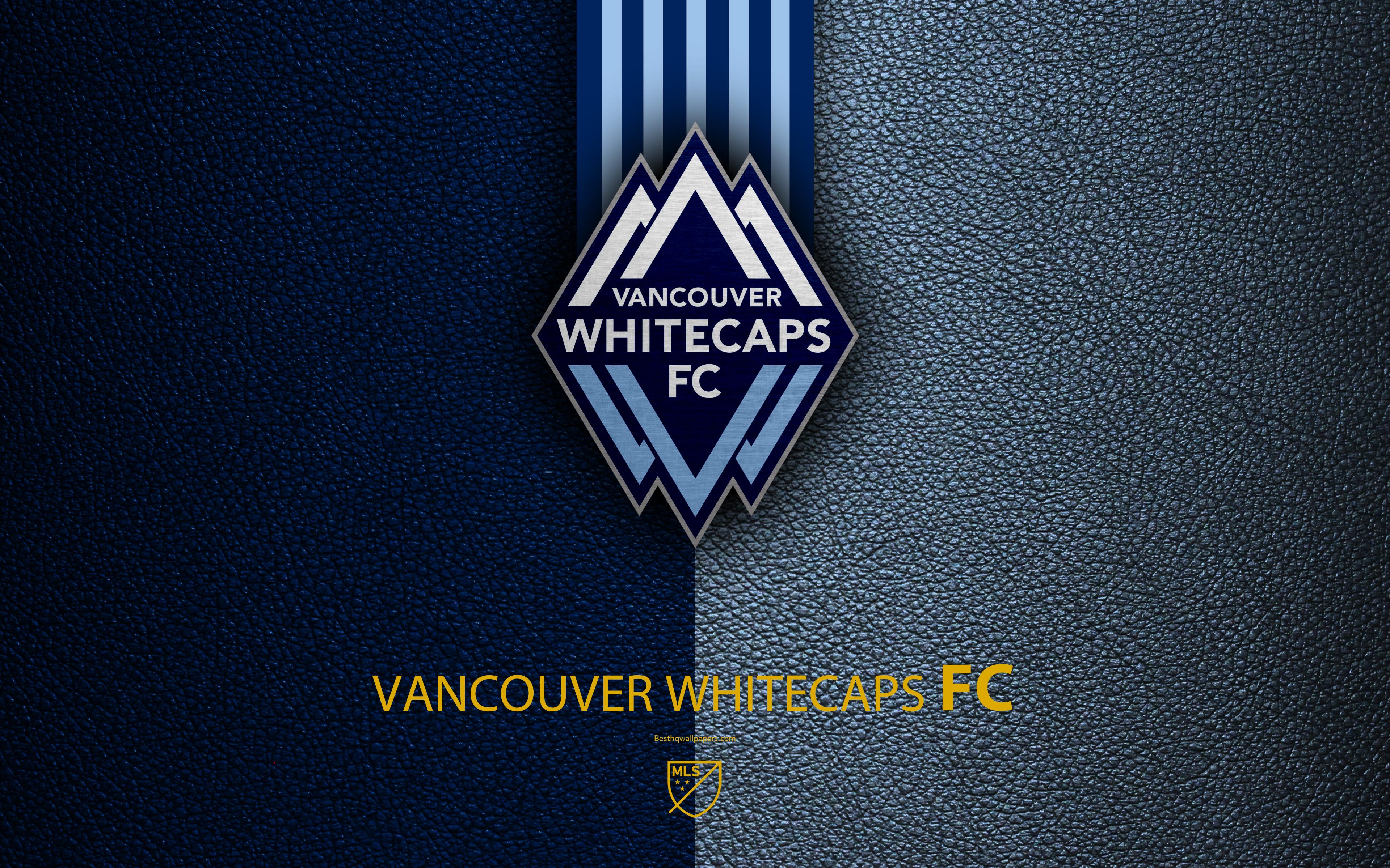 Logo Emblem Soccer MLS Vancouver Whitecaps FC wallpaper and 3840x2400