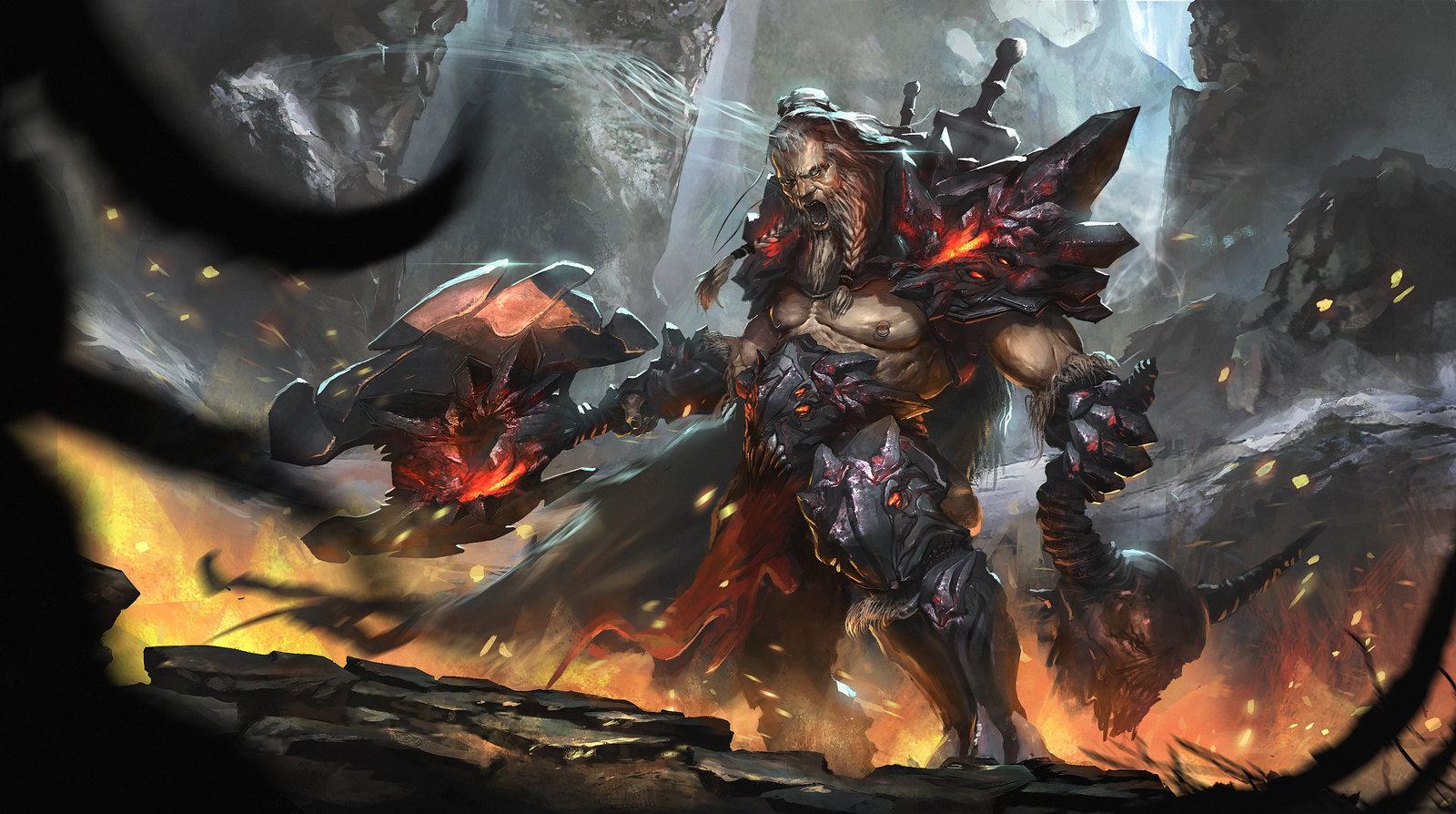 diablo 3 barbarian by nookiew watch contests 2014 diablo iii reaper of 1600x894