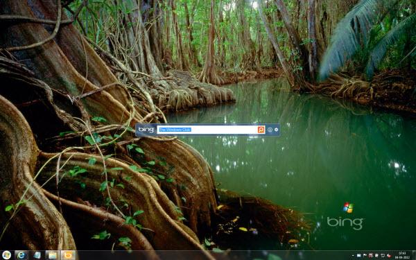 Bing as Desktop Background Windows 7 600x375