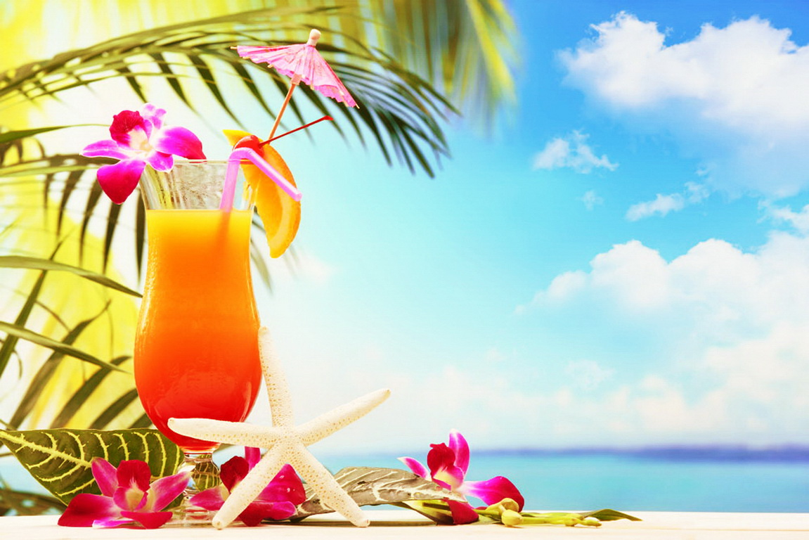 Tropical Cocktail Wallpapers 1151x768