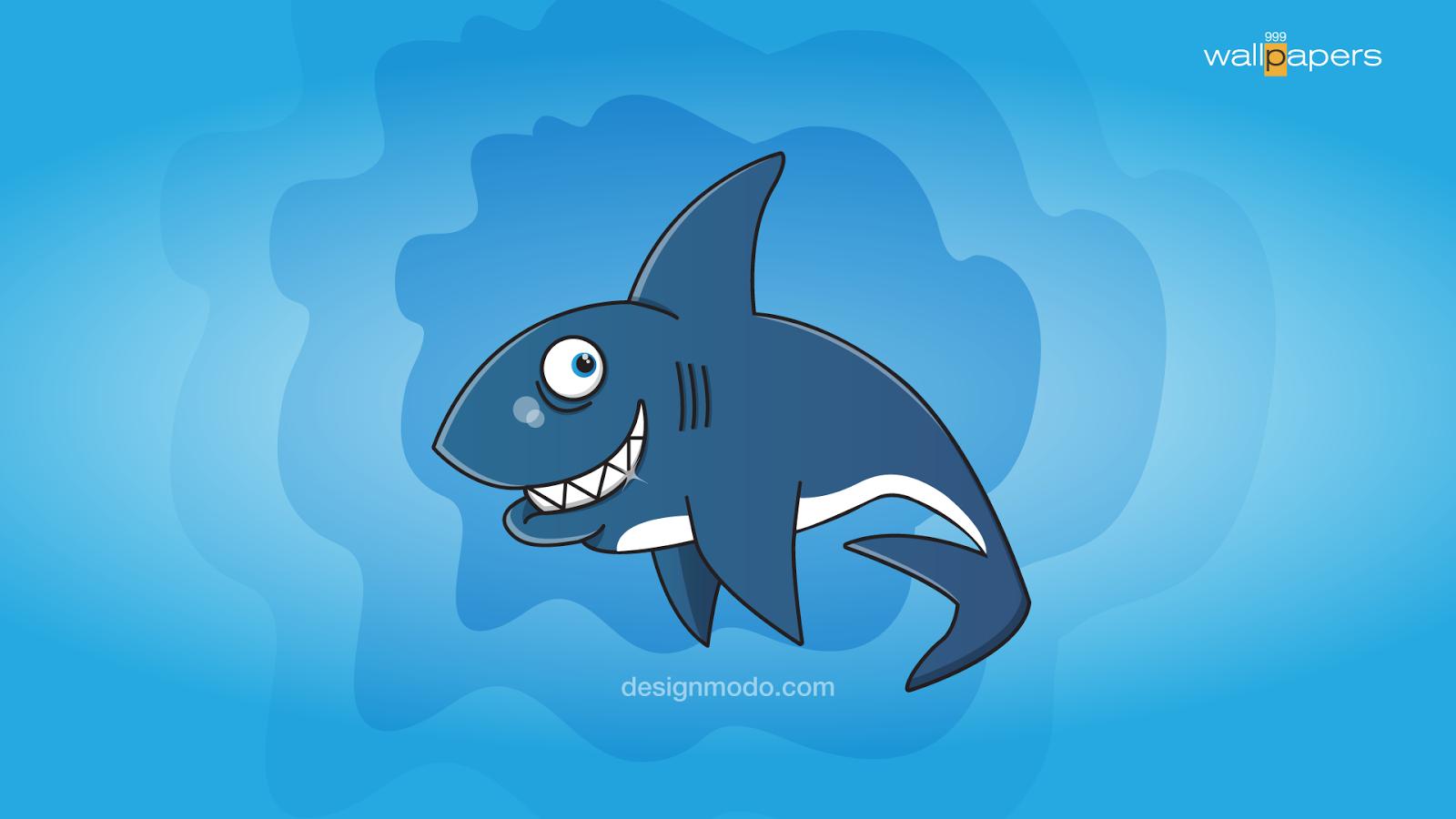 moving shark wallpaper