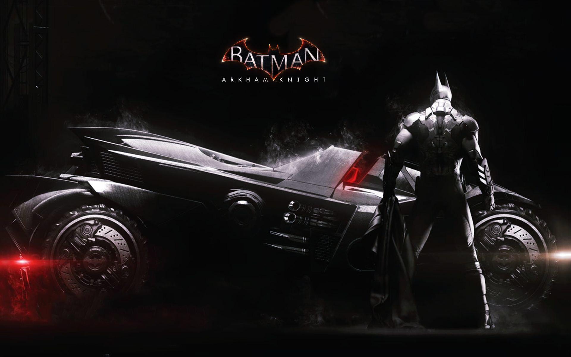 Batmobile wallpaper arkham knight