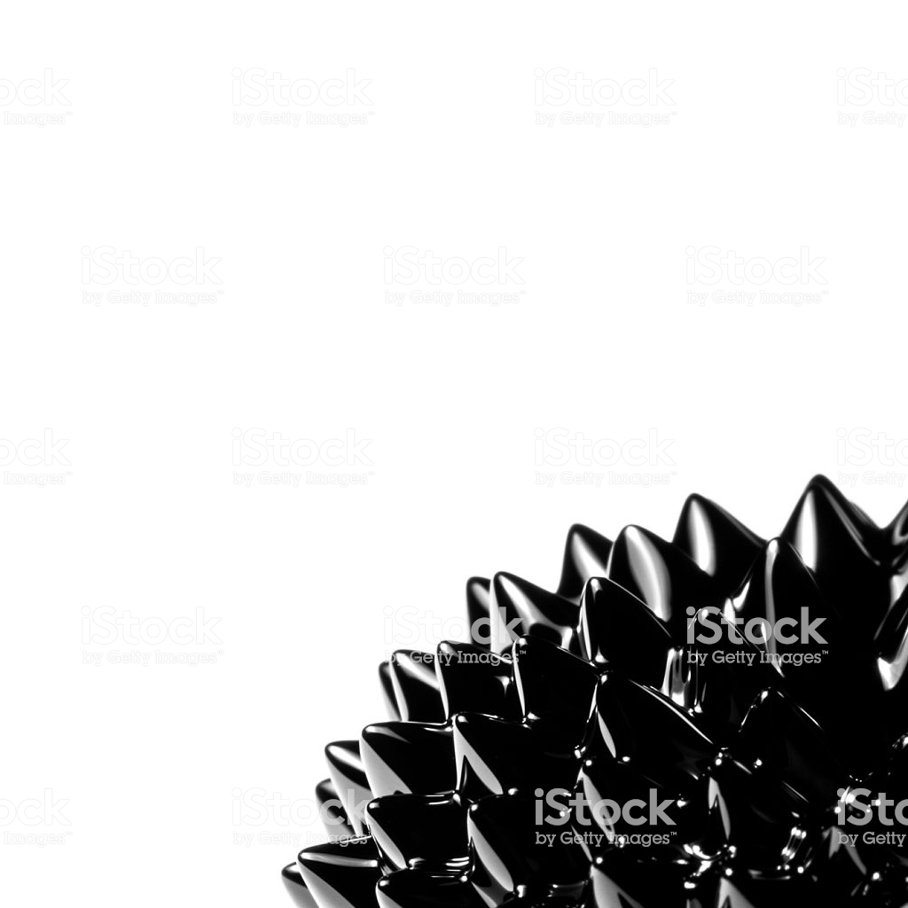 Ferrofluid White Background Stock Photo   Download Image Now   iStock 1024x1024