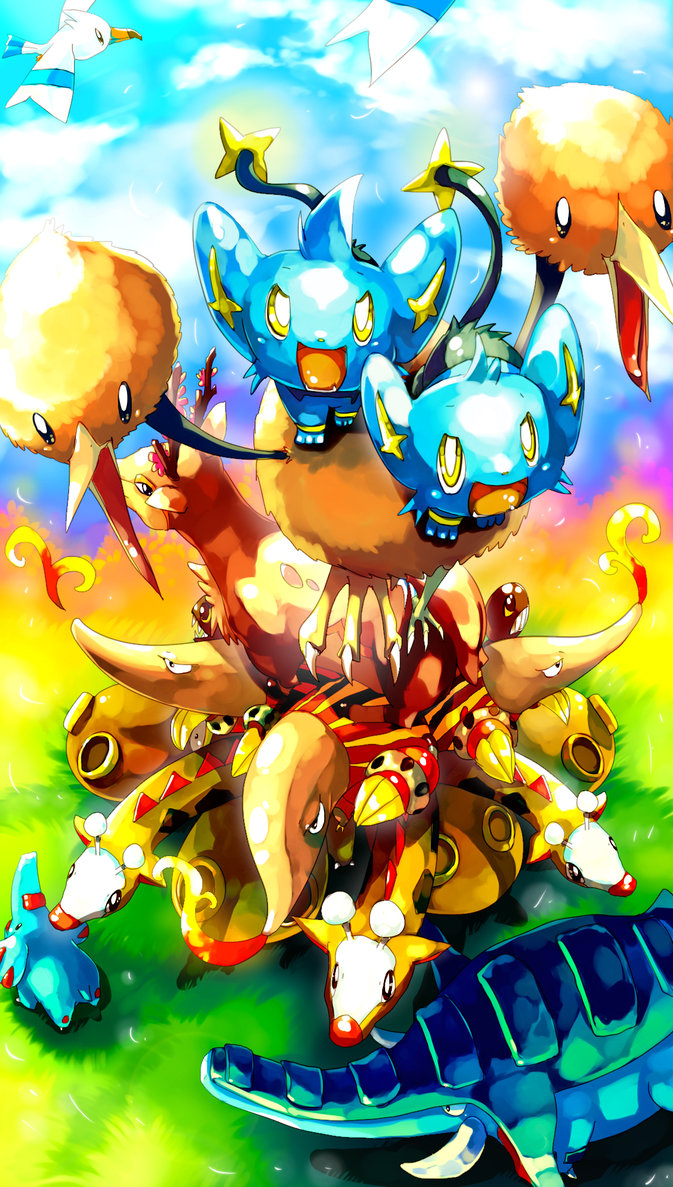 Pokemon Cant wait to be king by Sa Dui 673x1187