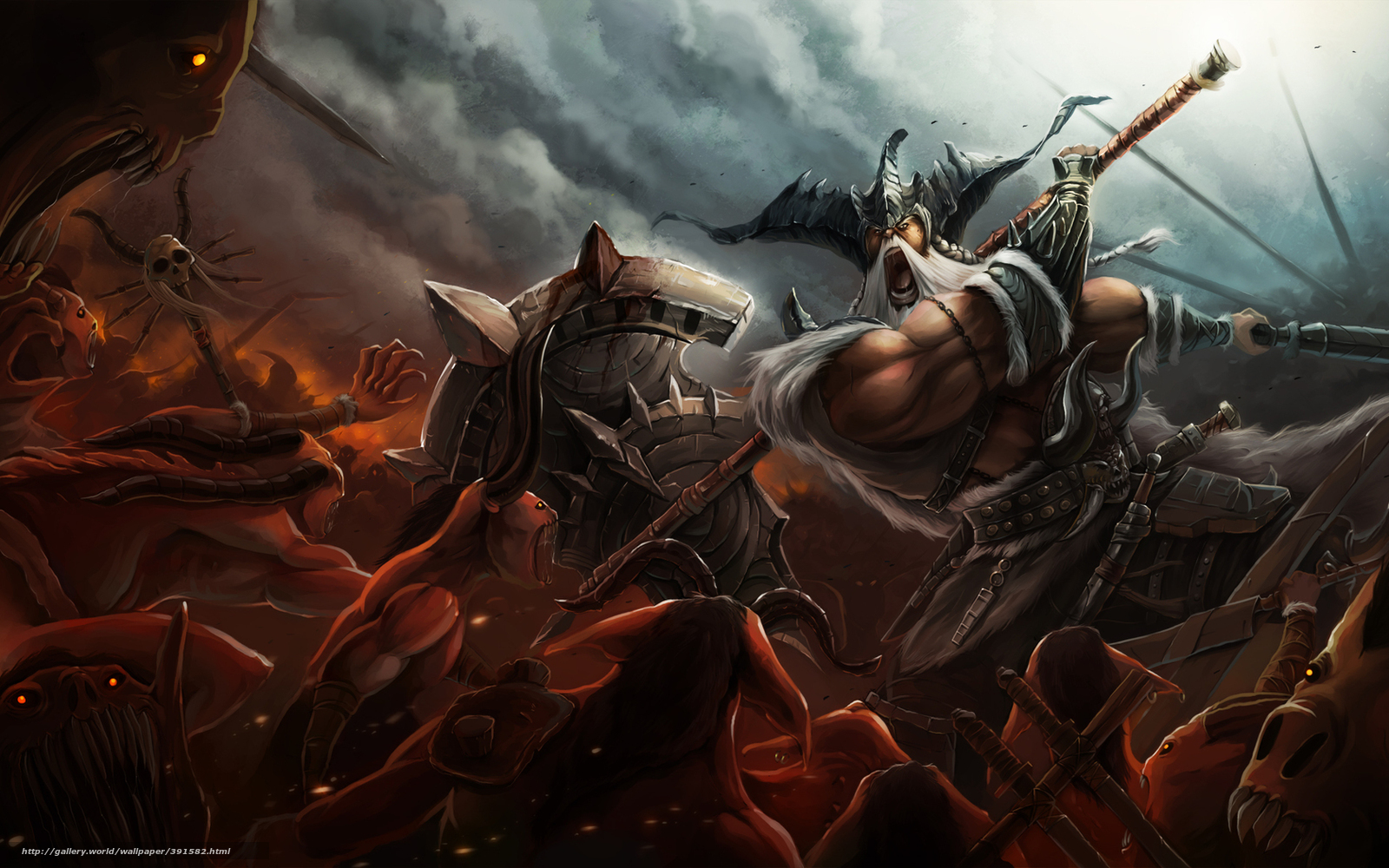 Gallery For Barbarians Desktop Wallpaper 1600x1000