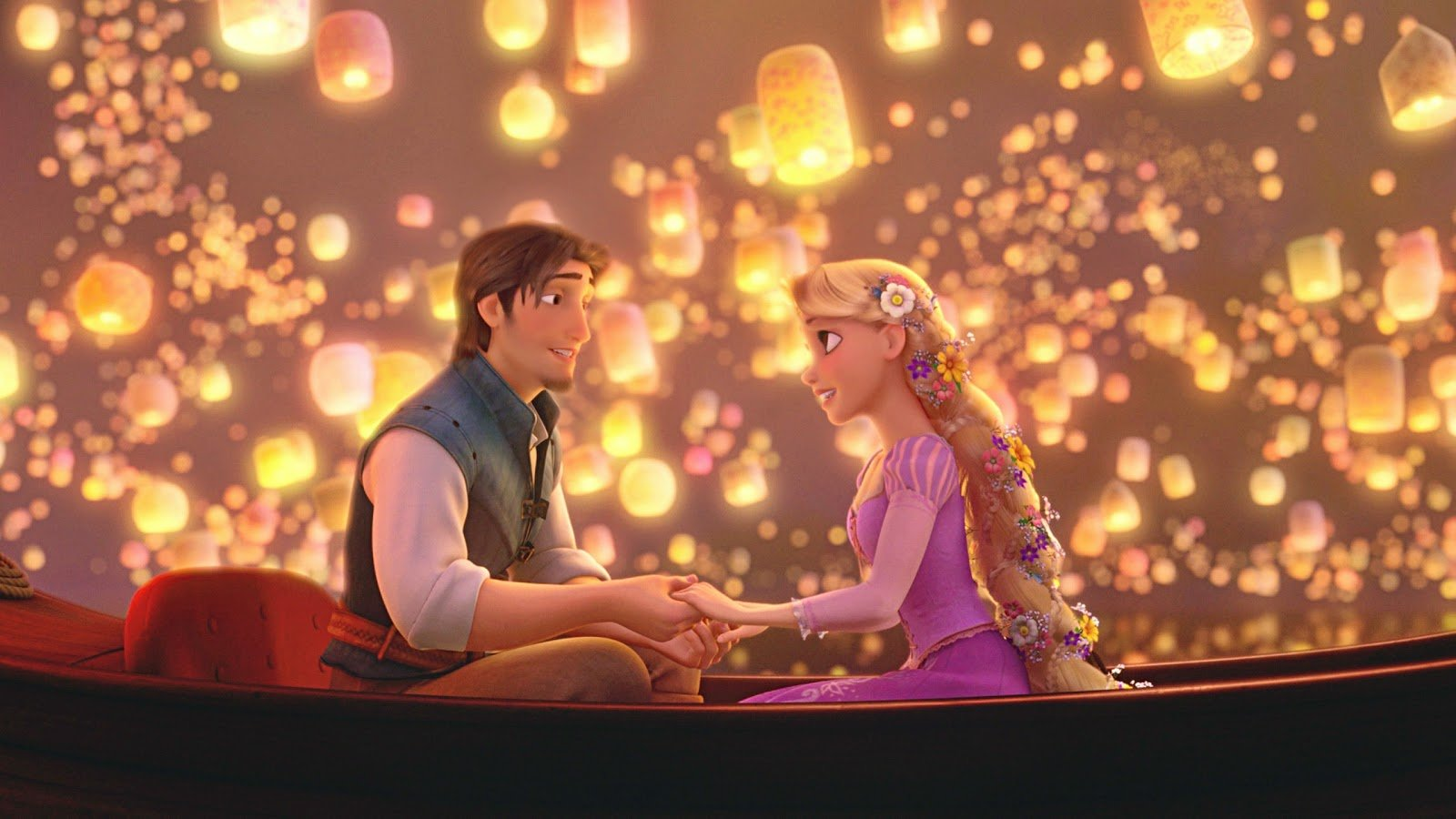 rapunzel and flynn tangled high definition wallpaper tangled rapunzel 1600x900