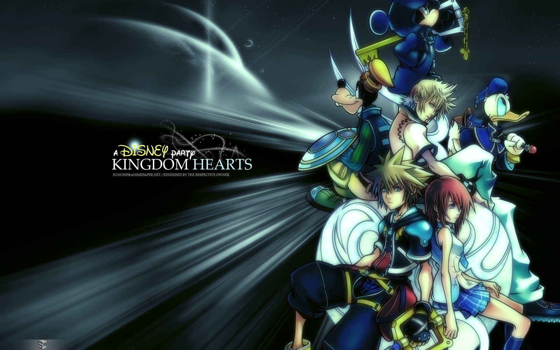 Kingdom Hearts PC Game Desktop Background 04 1920x1200