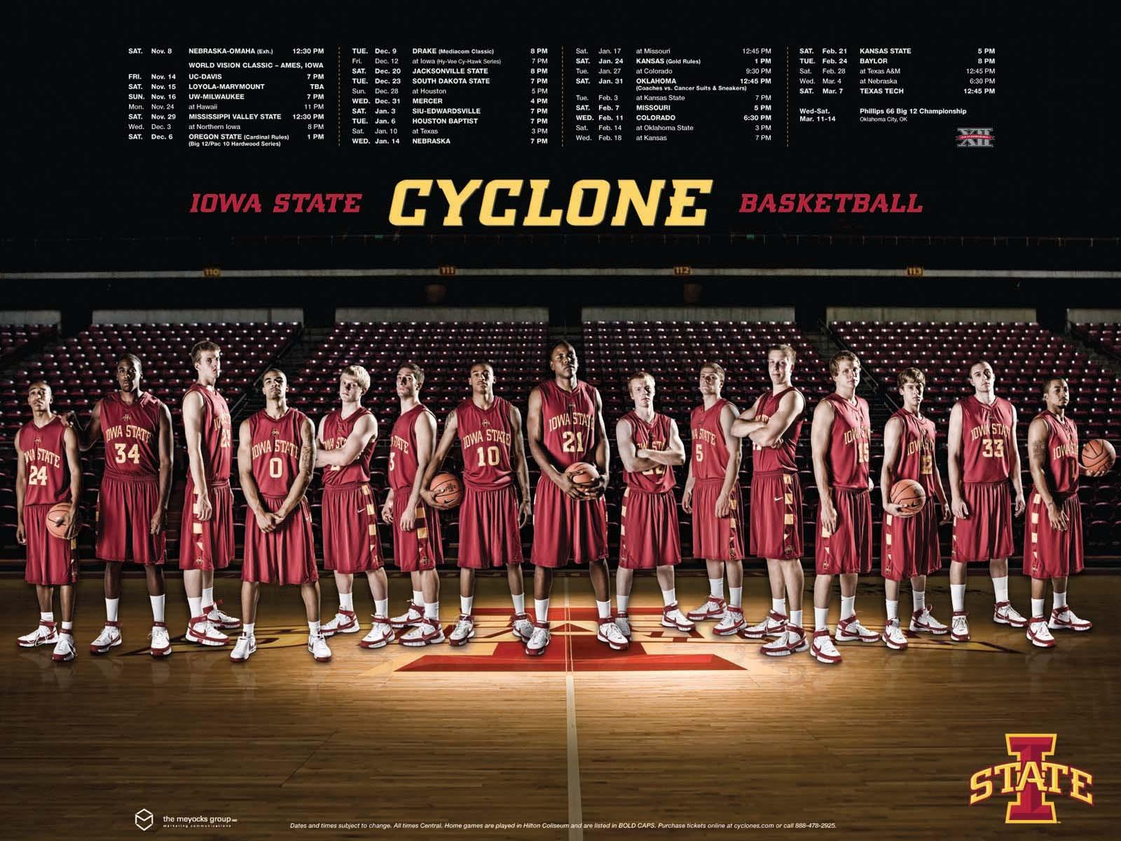 Iowa State Cyclones Basketball Wallpaper 1600x1200