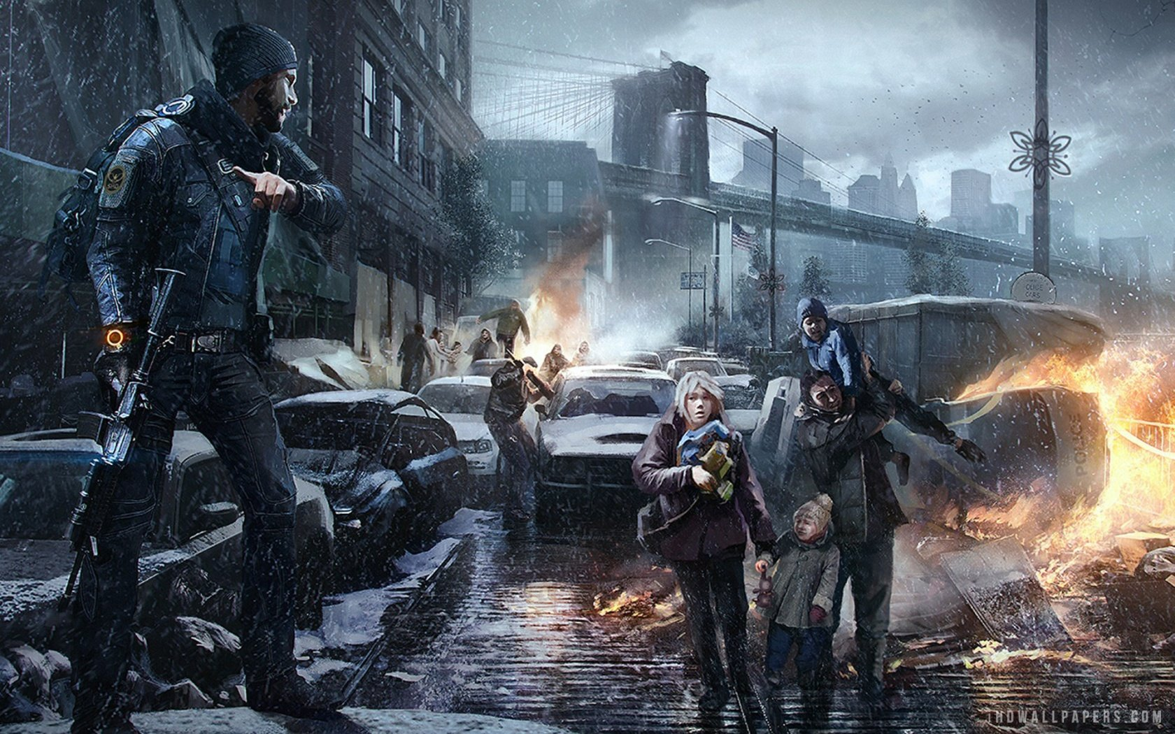 Tom Clancys The Division Concept Art HD Wallpaper   iHD Wallpapers 1680x1050