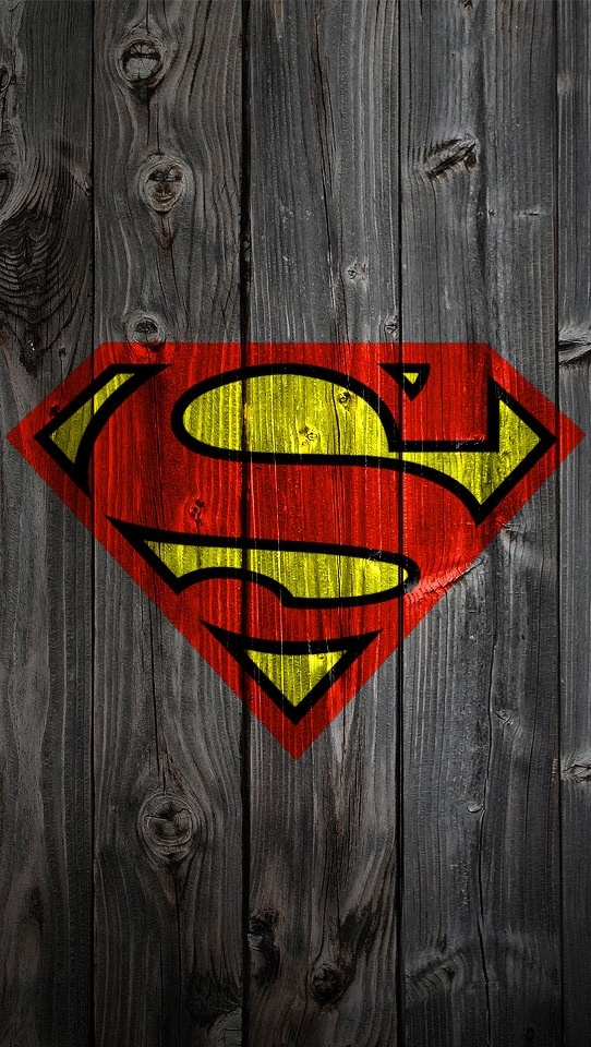 iPhone 5 Superman Wallpaper superhero Superhero Fun Pinterest 542x960