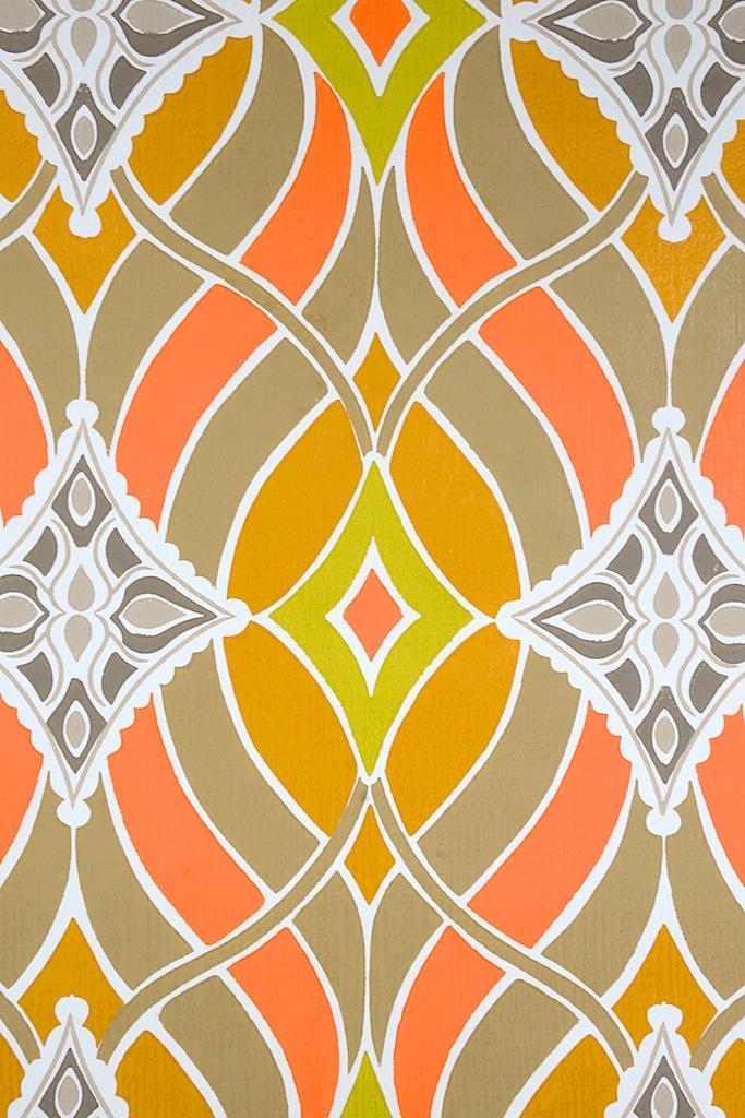 Retro Geometric Wallpaper - WallpaperSafari