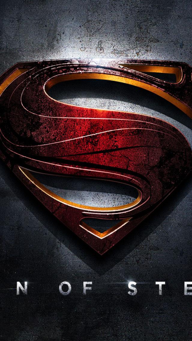 Superman Man Of Steel Wallpaper   iPhone Wallpapers 640x1136