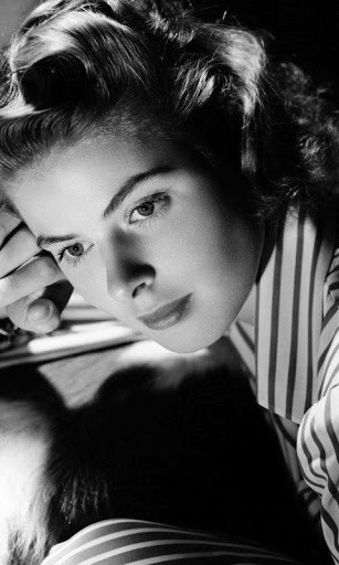 View bigger   Ingrid Bergman Live Wallpaper for Android screenshot 307x512