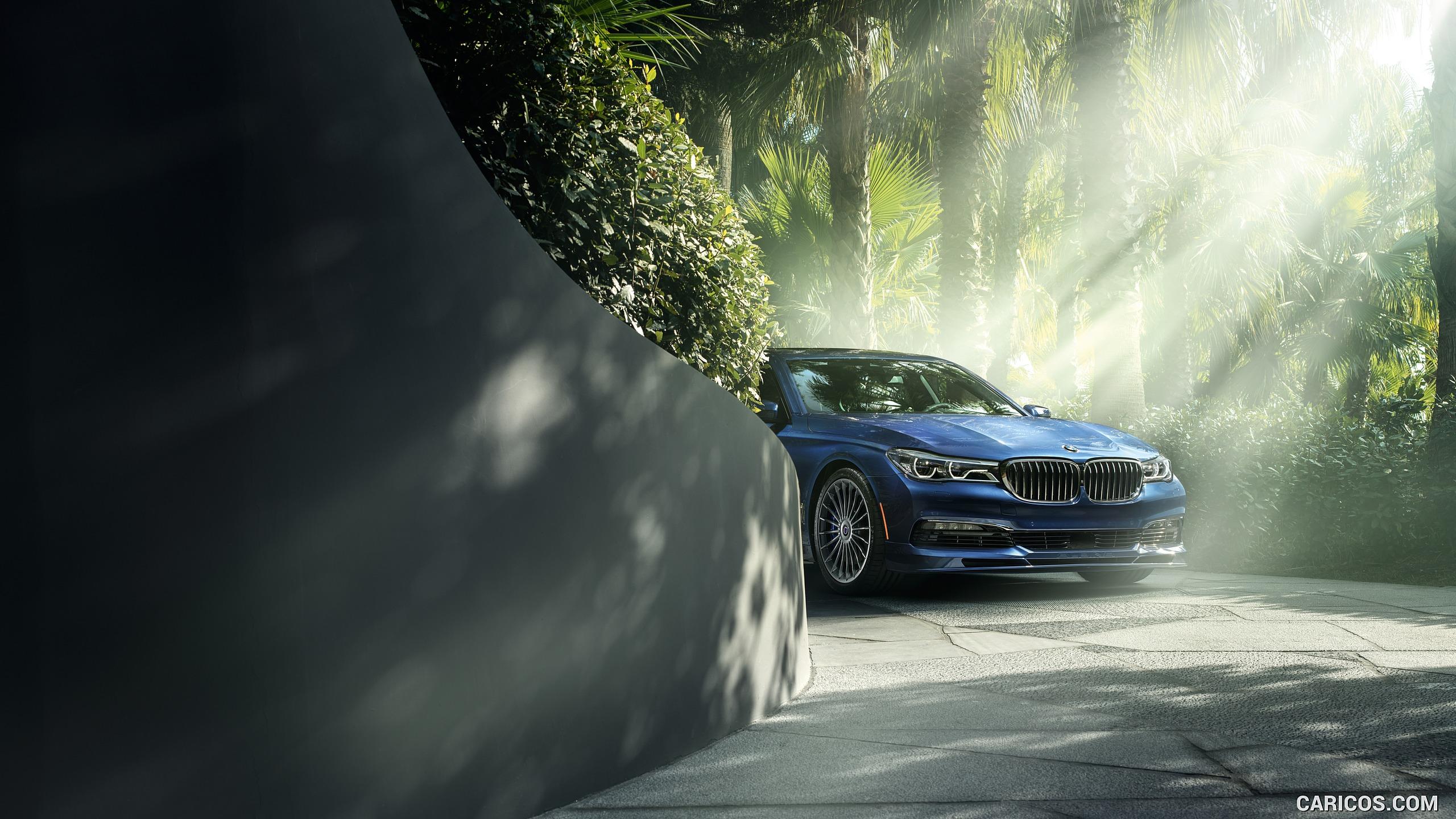 2017 ALPINA BMW B7 xDrive Blue   Front HD Wallpaper 15 2560x1440