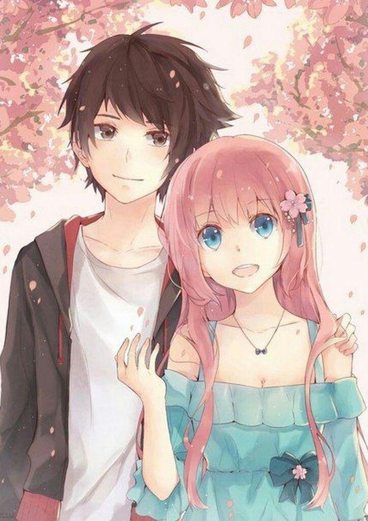 Pin by Salmah Bujang on cute couple wallpaper in 2020 Anime 724x1024