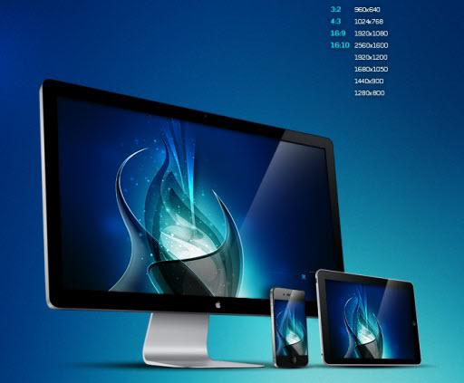 HD iPhone 640960 iPad 1024768 crditos para submicron 512x423