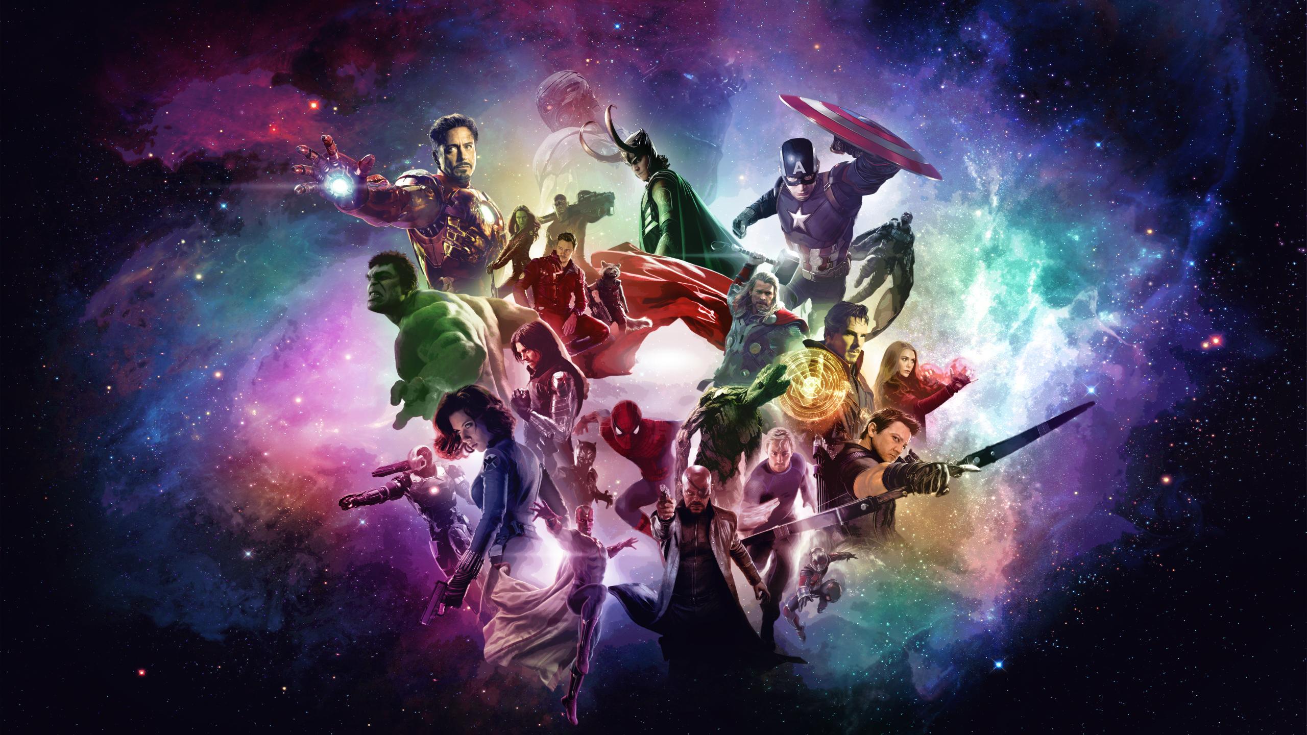 Marvel Cinematic Universe Wallpaper [2560x1440] via Classy Bro 2560x1440