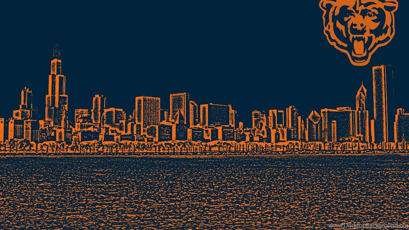 Chicago Bears Wallpapers Hd Desktop Background 1366x768